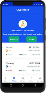 Cryptobase Manage Your Cryptocurrency Wallets Price Chart