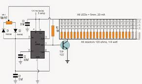 Working Of Tube Light With Circuit Diagram How To Build A 150 Led Pwm Tubelight Circuit