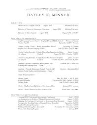Physical Education Resume Examples Physical Education Teacher