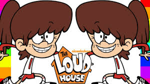 Nickelodeon The Loud House Coloring Pages With Drawing For Kids
