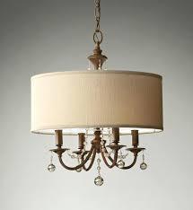 linen drum shade chandelier pendant light drum stunning linen
