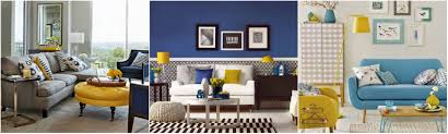 Living Room Ideas Mix Blue And Yellow