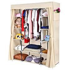 portable closet storage fabric portable closet storage organizer wardrobe clothes rack with