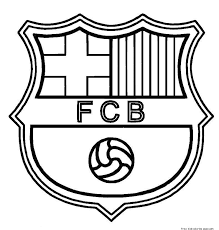 Small Picture Printable barcelona soccer coloring pages for kidsFree Printable