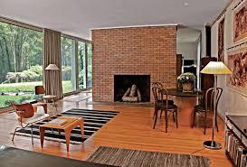 compact modern brick fireplace 128 modern brick fireplace design modern living room with full size
