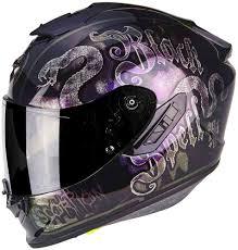 Scorpion Exo 1400 Air Blackspell Helmet