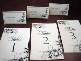 table name cards. place cards \u0026 table number name