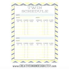 Baby Feeding Chart Template Ceansin Me
