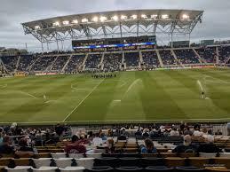Talen Energy Stadium Section 126 Rateyourseats Com