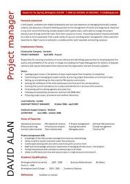 Construction Assistant Project Manager Resume Commercial Project Manager Sample Resume Construction