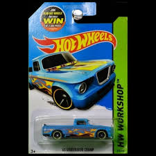 Hot Wheels 2015 Workshop Heat Fleet '63 Studebaker Champ Pickup ...