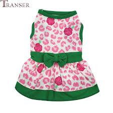 Greendog Size Chart Us 1 25 30 Off Transer Floral Print Pink Green Dog Cotton Dress With Bowknot 80628 In Dog Dresses From Home Garden On Aliexpress Com Alibaba