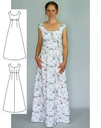 Dress Sewing Patterns Amazing Maxi Dress Sewing Pattern Gina Renee Designs