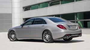 Mercedes-Benz S63 AMG-New engine, new transmission, new all-wheel ...