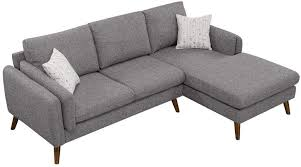 dhp haven small space sectional futon