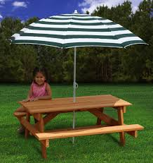 9 Best Wooden Stuff Images On Pinterest  Picnics Kid Table And Childrens Outdoor Furniture With Umbrella