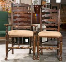19th c set of 6 ladderback chairs ladder back chairsside chairsdining room