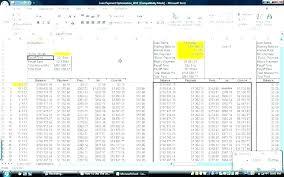 Loan Payoff Schedule Calculator Loan Amortization Calculator Fixed Rate Schedule Flat Excel