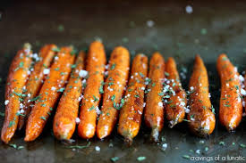 cooked baby carrots. Plain Carrots Balsamic Roasted Baby Carrots Baked On A Cookie Sheet And Sprinkled With  Salt Parsley On Cooked