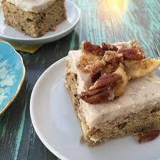 gluten free banana sheet cake recipe2