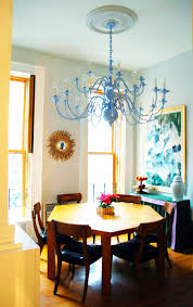 diy painting a brass chandelier