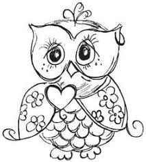 Small Picture Coloring Pages Owls Coloring Pages