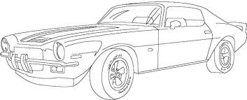 Small Picture Muscle Car Free Coloring Page Cars Kids Coloring Pages