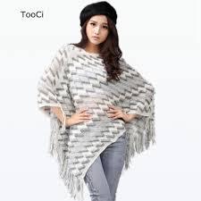 Fashion Autumn Women White <b>Sweater</b> Ladies Tassels Poncho ...