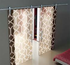 image of modern sliding glass door treatments