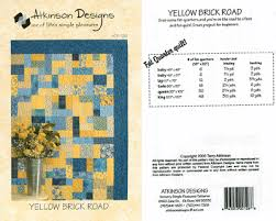 BRICK PATTERN ROAD YELLOW » Patterns Gallery & Quilting Corner -------------- Adamdwight.com
