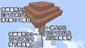 マイクラ 天空 トラップ タワー
