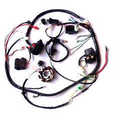 atv harness buggy wiring harness loom gy6 150cc atv stator electric start kandi gokart dazon