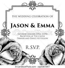 Vintage Invitation Template Extraordinary Wedding Invite Invitation Template A Wedding Invitation Invite Save