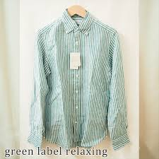 Green Label Relaxing Green Label Relaxing Linen Shirt Stripe Men Size In The Spring And Summer Arrows Mix And Match Ua Ladys Lovely Mature Tops
