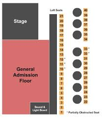 Belly Up Tavern Tickets And Belly Up Tavern Seating Chart