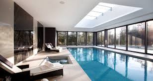 Indoor swimming pool design Classic An Indoor Pool Must Always Be Included In The Project Of House Especially When You Dislike The Crowd From Public Pools The Indoor Pools For Homes Create Pinterest Indoor Swimming Pool With Extraordinary Design Ideas Water Homes