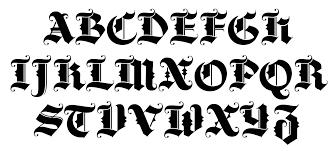 black letter font 7 black letter font images black letter alphabet font gothic
