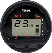 boat rigging digital and analog gauges yamaha outboards 6y5 multi function tachometer