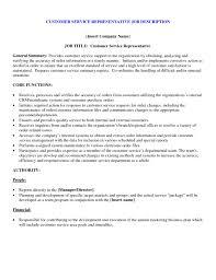 customer service rep job description for resume. job description for  customer support executive gse ...
