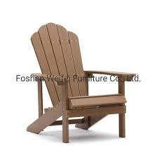 china wooden plastic adirondack chair