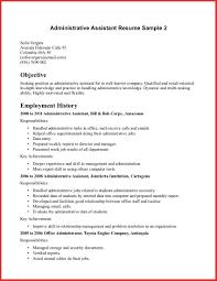 Executive Assistant Resume Example Elegant Administrative Assistant Objective Resume Sample 34