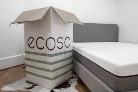 mattress in a box. mattress in a box - ecosa unboxing