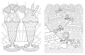 Small Picture Relaxation Coloring Pages FunyColoring