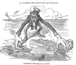 american imperialism boundless us history located at upload org commons 7 7e la fallera de l oncle sam jpg