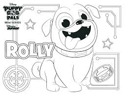 Puppy Dog Pals Coloring Book With Puppy Dog Pals Coloring Pages