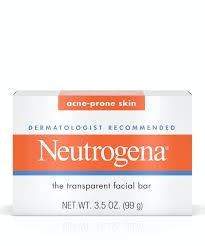 <b>Facial Cleansing Bar for</b> Acne-Prone Skin | Neutrogena®