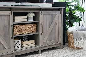easy farmhouse inspired decor living room refresh 1