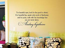 >decalgeek audrey hepburn inspirational quotes vinyl wall art decal  decalgeek audrey hepburn inspirational quotes vinyl wall art decal sticker