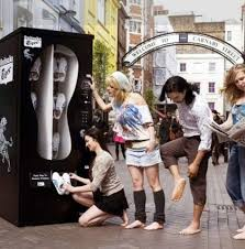 Sneaker Vending Machine Extraordinary 48's Most Fashionable Vending Machines Shoe Dispensing Hits UK