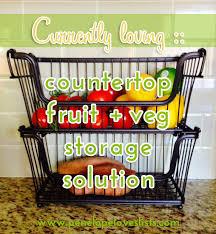 kitchen counter organization solution